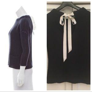 Ulla Johnson Ribbon tie sweater